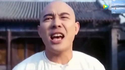 《方世玉》李连杰自己都绷不住笑了,与岳父敲锣打鼓对唱山歌!