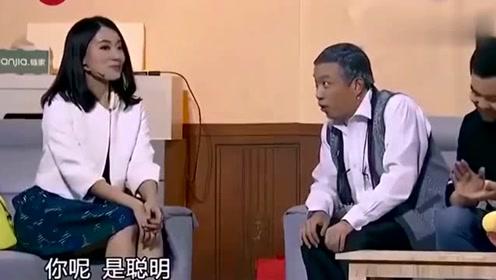 张小斐问:我和贾玲比怎么样,大潘的回答绝了