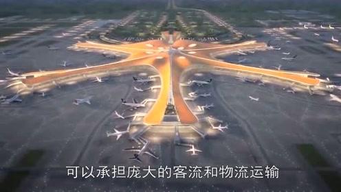 大兴机场有多厉害?140万平方米的庞然大物,仅靠6根柱子支撑!