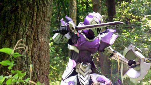 《骑士龙战队》龙装红身受重伤,强势变身,激战盖索古