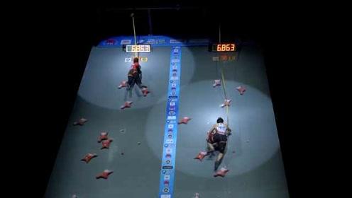 速攀15米仅用6.995秒!印尼女选手成史上第一人