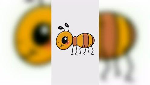 妈妈画的蚂蚁VS我画的蚂蚁