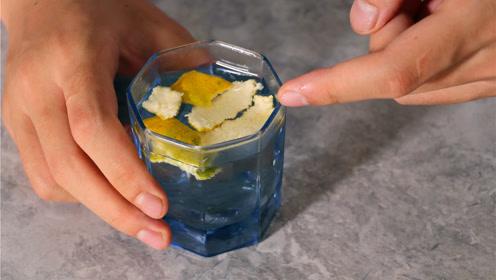 橘子皮用水泡一泡太厉害了,解决大家多年的困扰,省钱又实用!