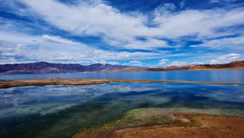 我国与印度共有的湖泊,一边鱼肥水美,一边荒凉至极,怎么回事?