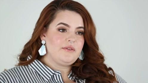 超胖模特时尚大片 丰腴身材极尽性感