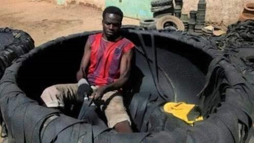 非洲大量进口中国废弃轮胎,它们到底有什么用途?背后原因让人心酸