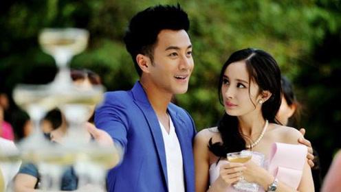 杨幂和刘恺威的旧照 俩人牵小糯米那张好甜