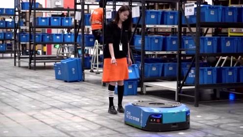 中国新一代智能仓上线 超千台机器人联手为双11物流提速