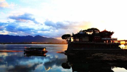 一分钟带你看看中国最神奇古寺 屹立江中千年却不曾被淹没
