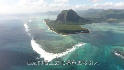 世界上最大瀑布存在于海底,一天吞掉50亿升海水,坐飞机才能看!