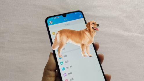 怎么在手机养条狗你知道吗?一打开手机就撒腿跑出来,还带叫声