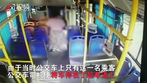 多角度还原现场:女乘客在超车道跑下公交被撞亡