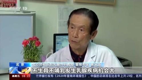 警惕!乳腺癌多为无痛肿块 早期发现率不足20%