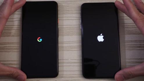 谷歌pixel4xl对比苹果11ProMax、巨头硬钢如何