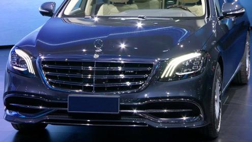 全新迈巴赫S680,V12双涡轮,彰显顶级奢华的霸气
