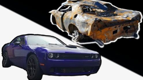 极限翻新,这一堆破铜烂铁,能成功修复变成辆新车么