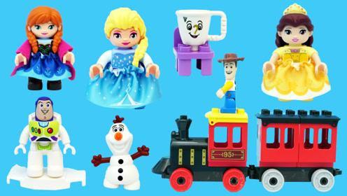 乐高LEGO的冰雪城堡积木玩具