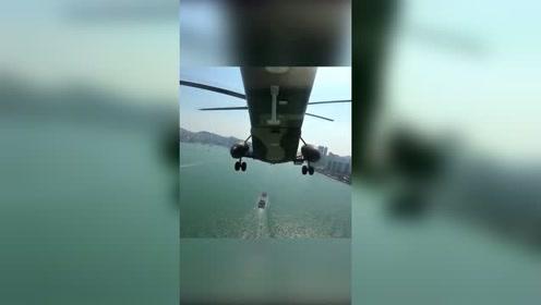 驻港部队航拍太震撼!这个角度看香港,美得很不一样!