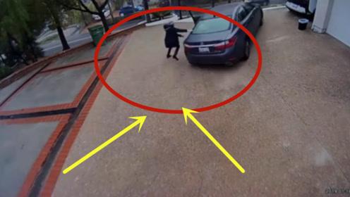 这个女司机充分说明了自己愚蠢,下车后一个举动,网友:祸害!