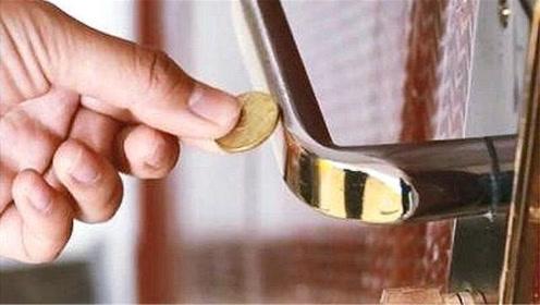 出门前,记得用硬币碰一下门把手,不少人还不懂咋回事,都看看吧