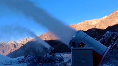 诺泰克造雪机 让雪友们提前雪上飞驰