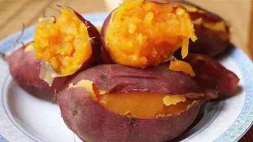 蒸红薯时,千万别直接上锅蒸,牢记这个技巧,红薯香糯又好吃!