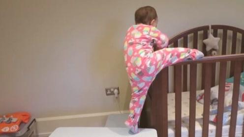 爸爸去叫弟弟起床,却看到Emilia,随后的一幕更让他惊讶