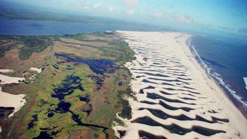 世界上最善变的沙漠!每年总有那么几天会变成湖泊,还有鱼群光顾?