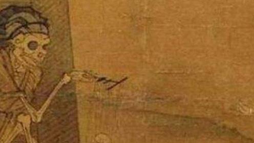"""流传700年的南宋""""诡异画像"""",封存在故宫中,无人敢直视"""