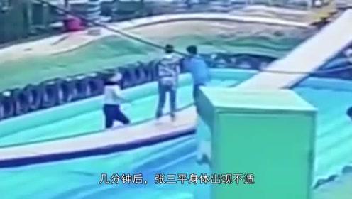 """男子玩网红""""摇摆桥""""跌落后身亡,景区:他起身后还吃柚子"""