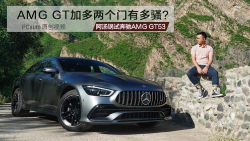 AMG GT加多两个门,魅力能放大多少倍?试奔驰AMG GT53