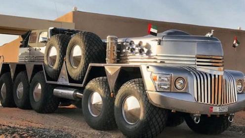 """土豪花千万改装一辆10驱豪车,几公里油耗上万,网友:""""油老虎"""""""