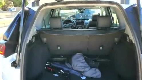 抢鲜看:本田全新皓影后备箱设计,滑动灯光开关,未直接露出车体