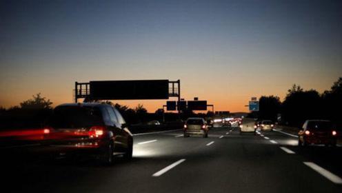 新手夜间跑高速心里慌?看看老司机开车多年经验总结