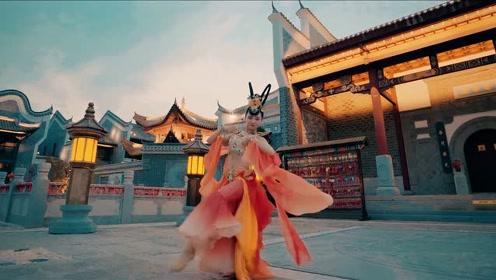 """中国舞蹈巅峰""""敦煌舞"""",身穿金纱弹琵琶!"""