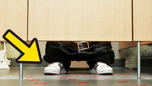 为何公共厕所的隔间下面会留有缝隙?看完涨知识了