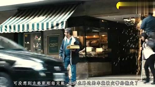 影视:男子看到自己的爱车被拖走,不仅不担心,反而微微一笑