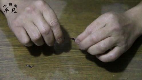 自己绑鱼线容易缠绕,教你防缠绕绑法,学会鱼线再也不用担心缠绕