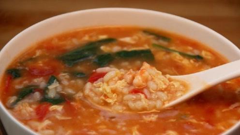 教大家疙瘩汤一个新吃法,不加一滴水,保证各个均匀圆溜溜