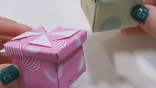 首饰品没地方放总是乱扔,自己动手做个小礼盒!