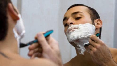 男人刮胡子的频率,能影响寿命长短?提醒:最好避开这两个时间