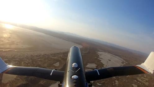 美国这款飞机模型,可以自动折叠机翼,以后会应用在战斗机上