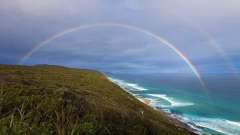 彩虹也能提前预报?彩虹之都一天三次出现彩虹,喜提彩虹预报功能!