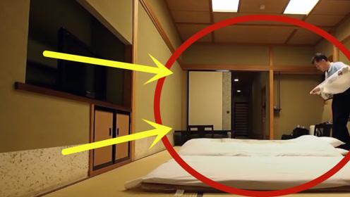 日本人放着床不睡,都睡在地上,没想到背后竟有着这样的方便!
