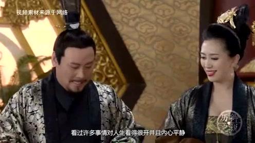 皇帝故意刁难一个家族,赏两个梨让900人分着吃,结果令皇帝佩服