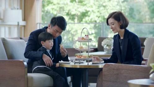男保姆兼职当爸爸,富婆故意在同事面前秀恩爱,小伙赚大了