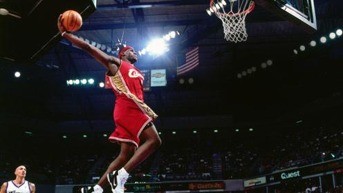 经典青春回顾:NBA球星生涯首记扣篮合集