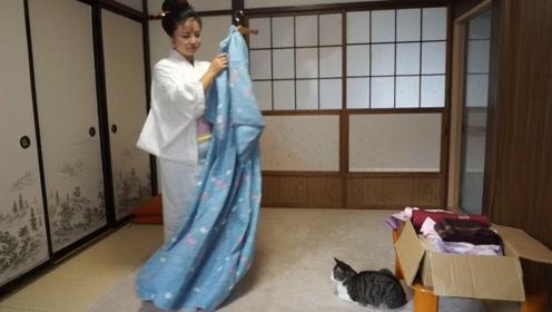 日本女性和服背后为什么都有一个小枕头?今天可算是看明白了