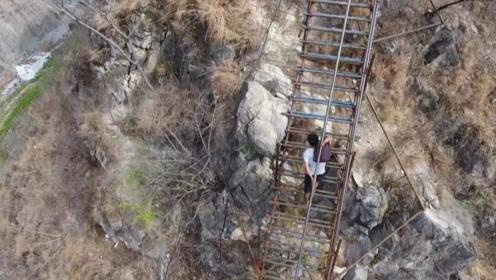 当年凉山悬崖村获得6亿资助,最后就换了个楼梯,钱都去哪儿了?