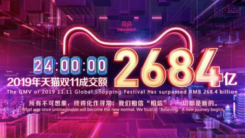 2019天猫双11成交2684亿元 广东人最能买买买